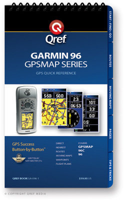 Garmin GPSMAP 96 Multi-Page Qref Book