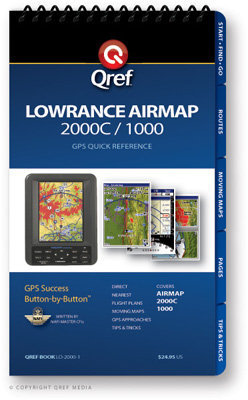 Lowrance Airmap 2000c / 1000 Multi-page Qref Book