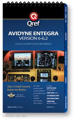 Avidyne Entegra (Ver. 6-7) Multi-Page Qref Book