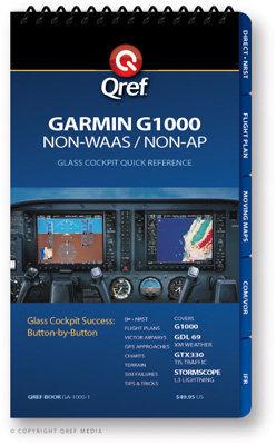 Garmin G1000 (Non-WAAS) Multi-Page Qref Book