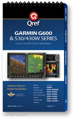 Garmin G600 Multi-page Qref Book