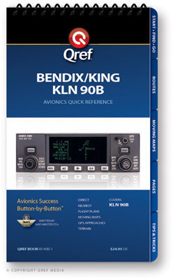 Bendix/King KLN 90B Multi-Page Qref Book