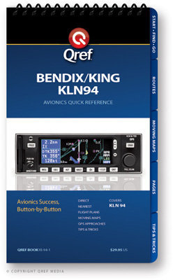 Bendix/king Kln 94 Multi-page Qref Book