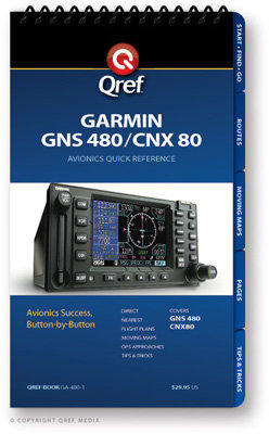 Garmin GNS 480 Multi-Page Qref Book