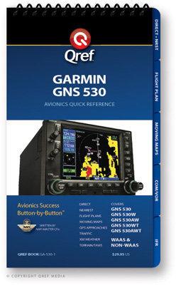 Garmin GNS 530 Multi-Page Qref Book