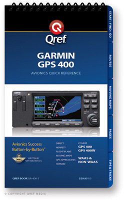 Garmin GPS 400 Multi-Page Qref Book