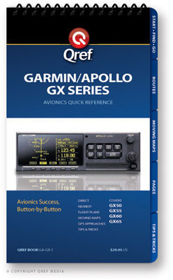 Garmin Gx Series Multi-page Qref Book