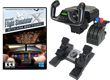Deluxe Saitek Flight Simulator Bundle - MS Flight Sim X, Yoke & Throttle, and Rudders