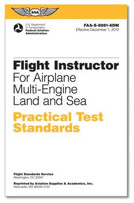 Practical Test Standards: CFI - Multi-Engine