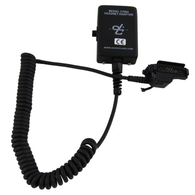 David Clark Headset Adapter C7053