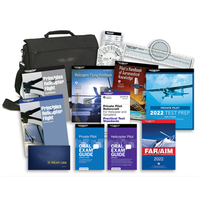 Private Pilot Training Kit With Dvds