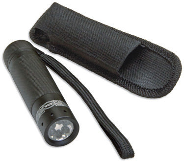 ASA Green/White Pocket LED Flashlight