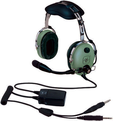 David Clark H10-13X ANR Headset on