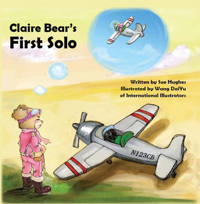 Claire Bear's First Solo Book