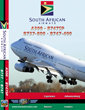 South African A300 / B747SP / B737-800 / B747-400 Cockpit Video (DVD)