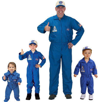NASA Flight Suit Costume