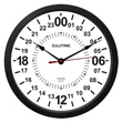 Zulu Time Wall Clock - 24 Hour Format - 10