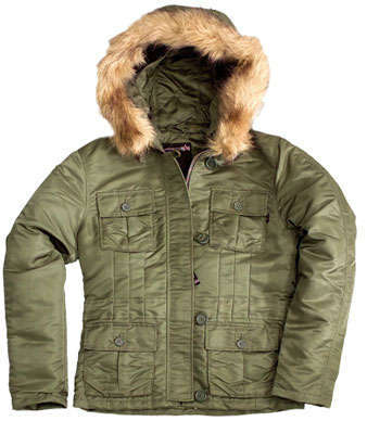 Ladies Abby Nylon Parka