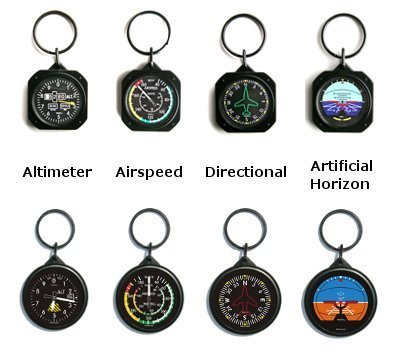 Instrument Key Chain