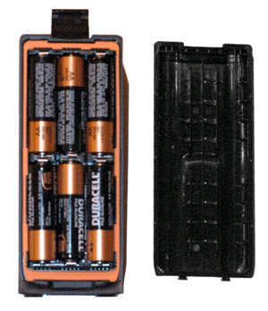 Icom Alkaline Battery Case For Icom Ic-a14