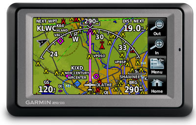 Garmin aera 500 Portable Aviation GPS (Pacific)