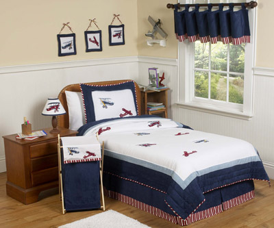 Aviator Full / Queen Bedding Set - 3 piece