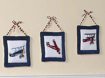 Aviator Bedroom Wall Hangings