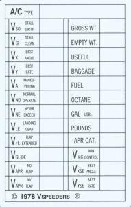 V-Speed Cards