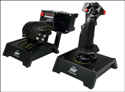 Saitek X65F Pro Force Sensing Flight System
