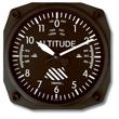 Altimeter Wall Clock