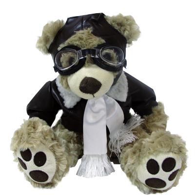 Stuffed Pilot Bear 14 Inch Mypilotstore Com