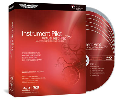ASA Virtual Test Prep DVD / PrepWare Software Combo - Instrument Pilot