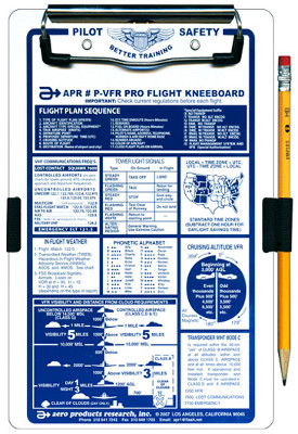 APR Deluxe VFR Pro-Flight Kneeboard