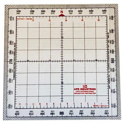 Apr Deluxe Intl Protractor & Parallel Rule Plotter