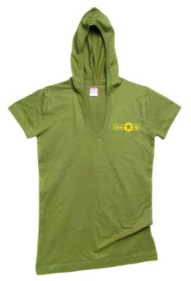 Chick Fly Short Sleeve Hoodie