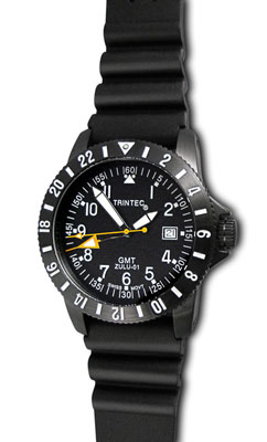 Trintec Zulu GMT Aviation Watch