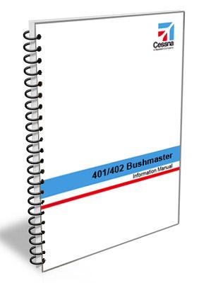 Cessna Aircraft Information Manual - 401 / 402 Businessliner