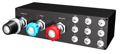 Saitek Pro Flight Throttle / Prop / Mixture Axis