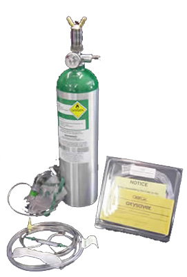 Aerox 1-place Portable Aviation Oxygen System