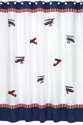 Aviator Shower Curtain
