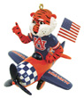 Mascot Airplane Ornament - Auburn Tigers