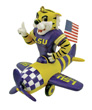 Mascot Airplane Ornament - LSU Tigers