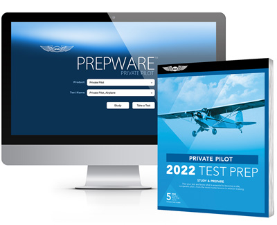 ASA Private Pilot Test Prep Book / Prepware Software Bundle