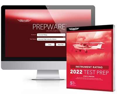 Asa Instrument Rating Test Prep Book / Prepware Software Bundle