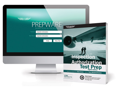 Inspection Authorization Test Prep Book and Software