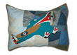 Quilted Airplane Pillow Sham