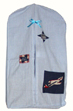 Quilted Airplane Diaper Stacker