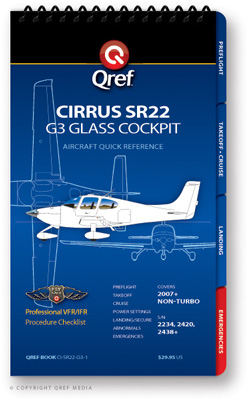 Cirrus SR22 G3 Checklist Qref Book
