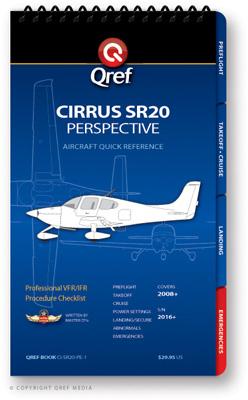 Cirrus SR20 Perspective Checklist Qref Book