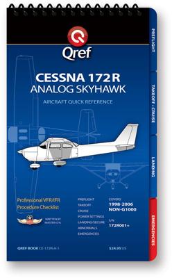 Cessna 172R Checklist Qref Book